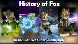 History of FOX in Competitive Super Smash Bros. (64, Melee, Brawl, Wii U) thumbnail