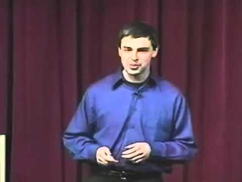 Larry Page of Google Gives Tips on Entrepreneurship