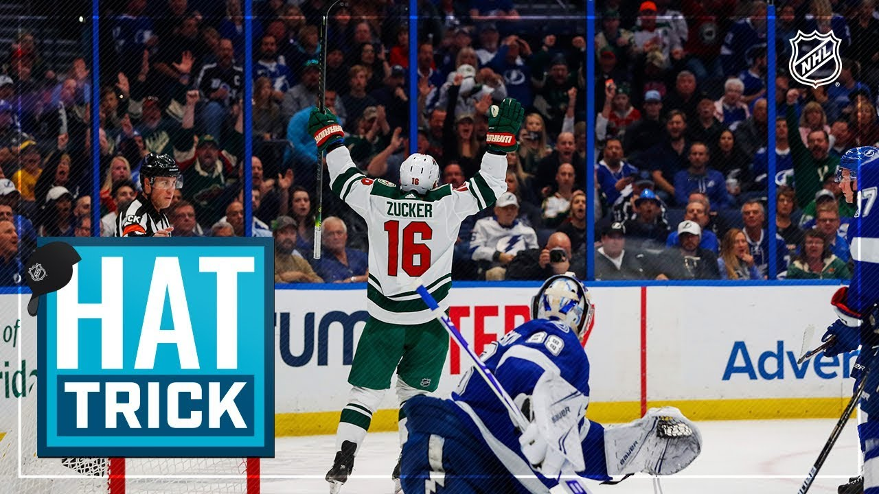 Jason Zucker Powers Wild To Victory With Natural Hatty Youtube