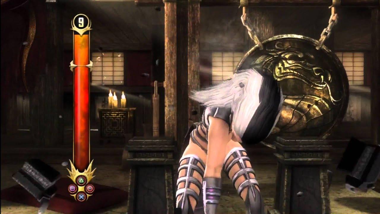 Mileena Mortal Kombat 9 Almost Nude! Spoilers Hd