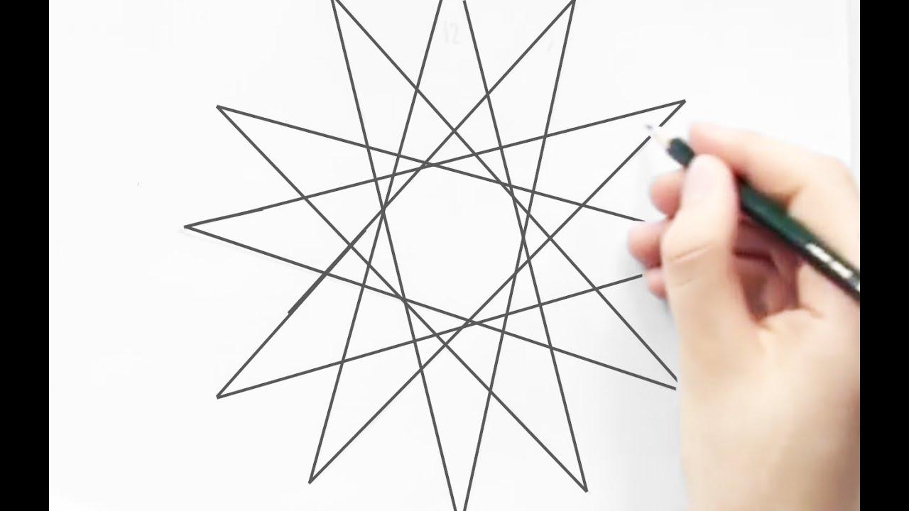 Hoe teken je een perfecte ster youtube - Hoe sluit je een pergola ...