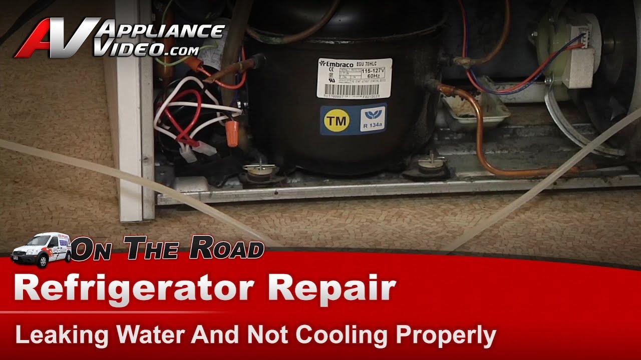 Maytag Refrigerator Repair Leaking Water On Floor Amp Not