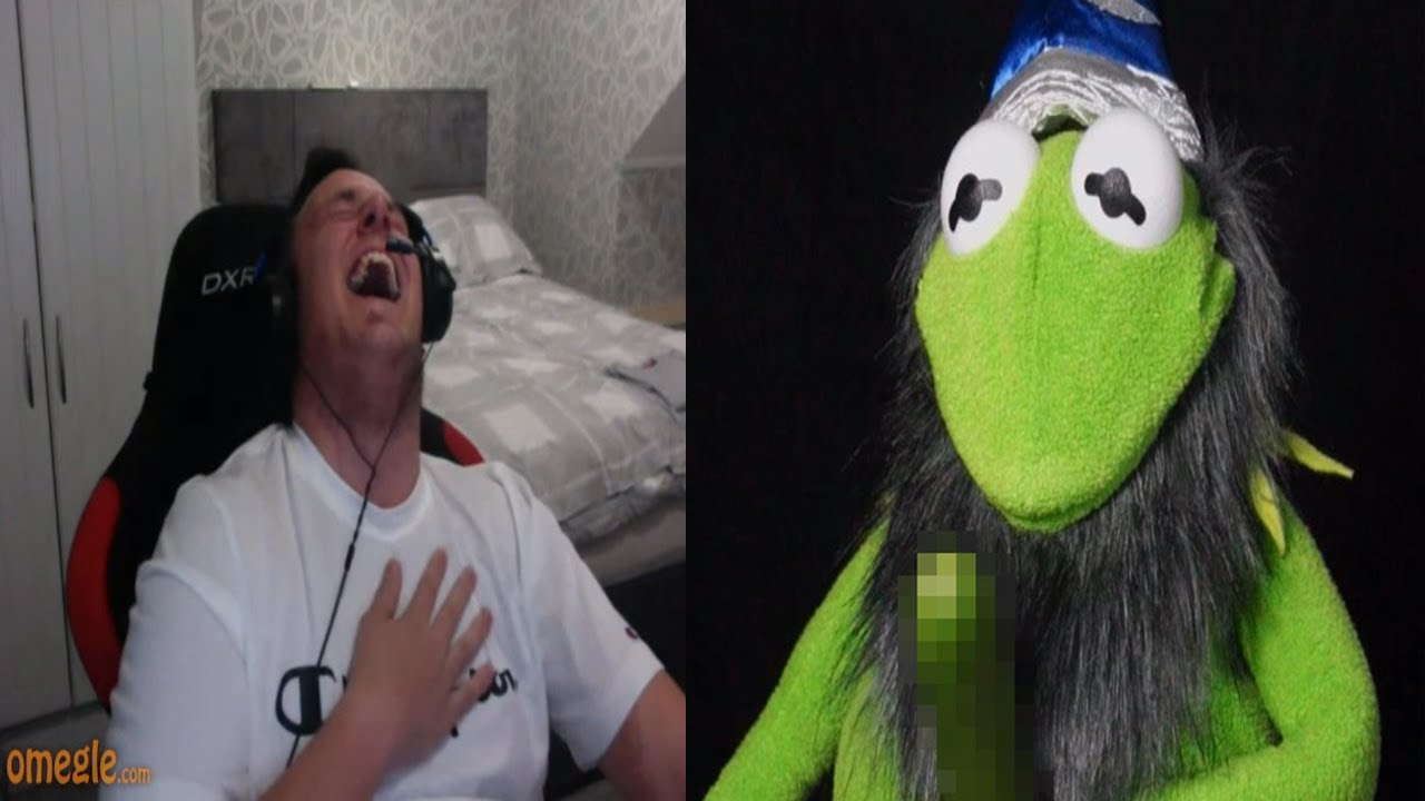 Kermit the wizard is back on Omegle