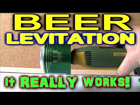 BEER CAN LEVITATION!!! IT REALLY WORKS!
