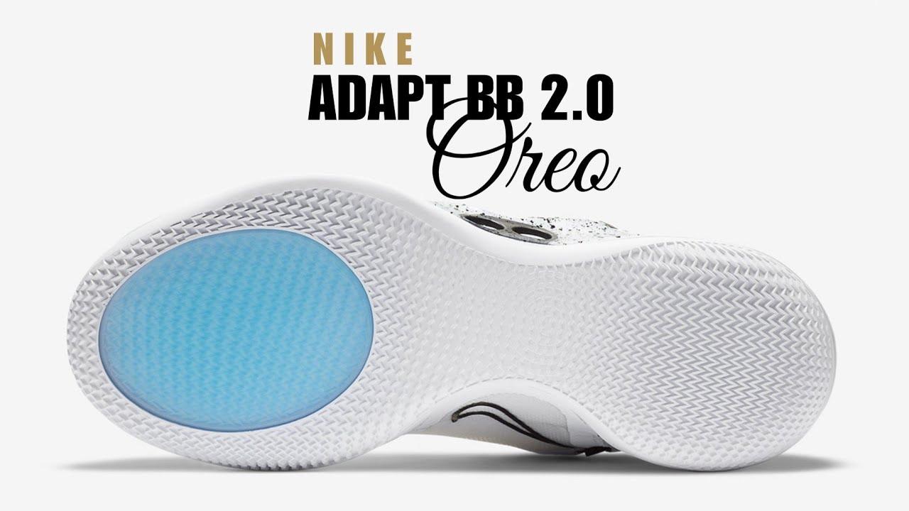 Nike Adapt Bb 2 0 Oreo First Look Price Release Date Oreo Adaptbb Youtube