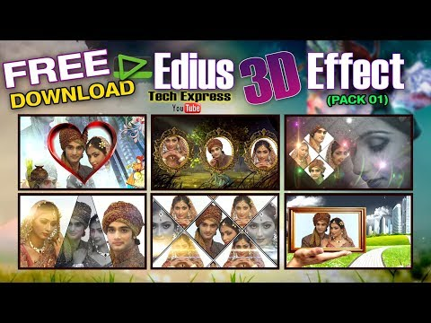 DOWNLOAD FREE EDIUS WEDDING 3D EFFECTS...