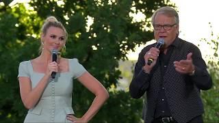 Lasse Berghagen & Sanna Nielsen - Tacka Vet Jag Logdans (Live