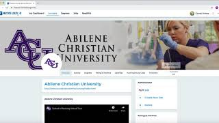 How to Edit Nursing Degrees listed in the Nurses Lounge Degree Directory