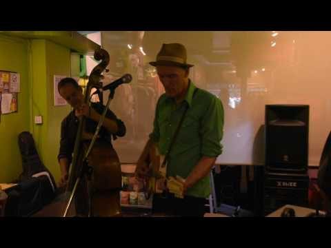 "Kevin Breit with Russ Boswell ""Been Gone "" -Kensington Market Jazz Festival - Richard Sugarman"