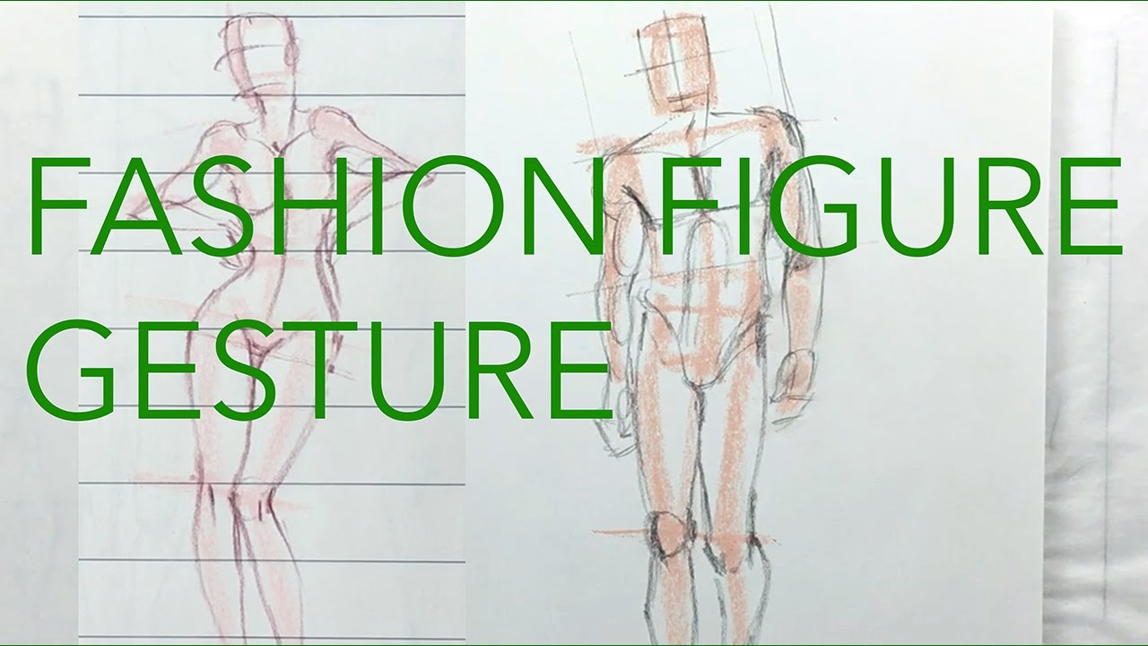 Fashion Figure Tutorial Different Approaches Men Women Youtube