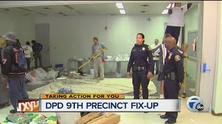 Detroit Police Department 9th precinct fix-up