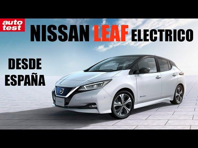 Prueba: Nissan Leaf eléctrico en España - Auto Test