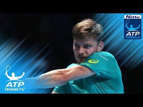AMAZING Grigor Dimitov vs David Goffin game in Nitto ATP Finals 2017 Final!
