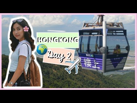 HONGKONG DAY 2: 360 CABLE CAR + WE WENT TO NGONG PING VILLAGE | PHILIPPINES | Janella Martin