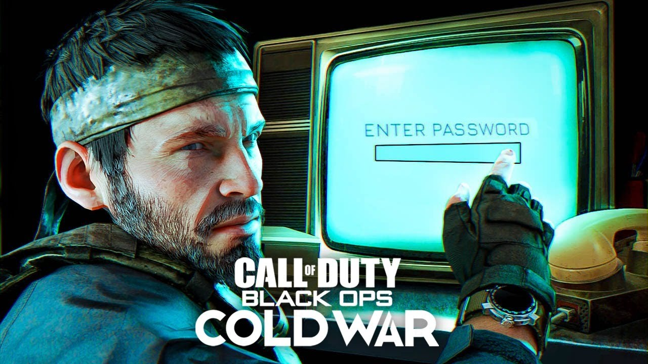 BLACK OPS COLD WAR REVEAL - NEW EASTER EGG STEPS!! (Call of Duty 2020)