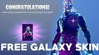 HOW TO GET THE FORTNITE GALAXY SKIN FOR FREE! (Store Method Working!) Note 9, Tab s4