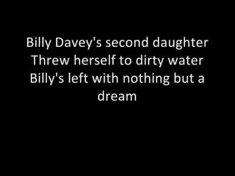 Billy Davey's Daughter - Stereophonics (lyrics)