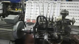 Homemade diesel pump test bench