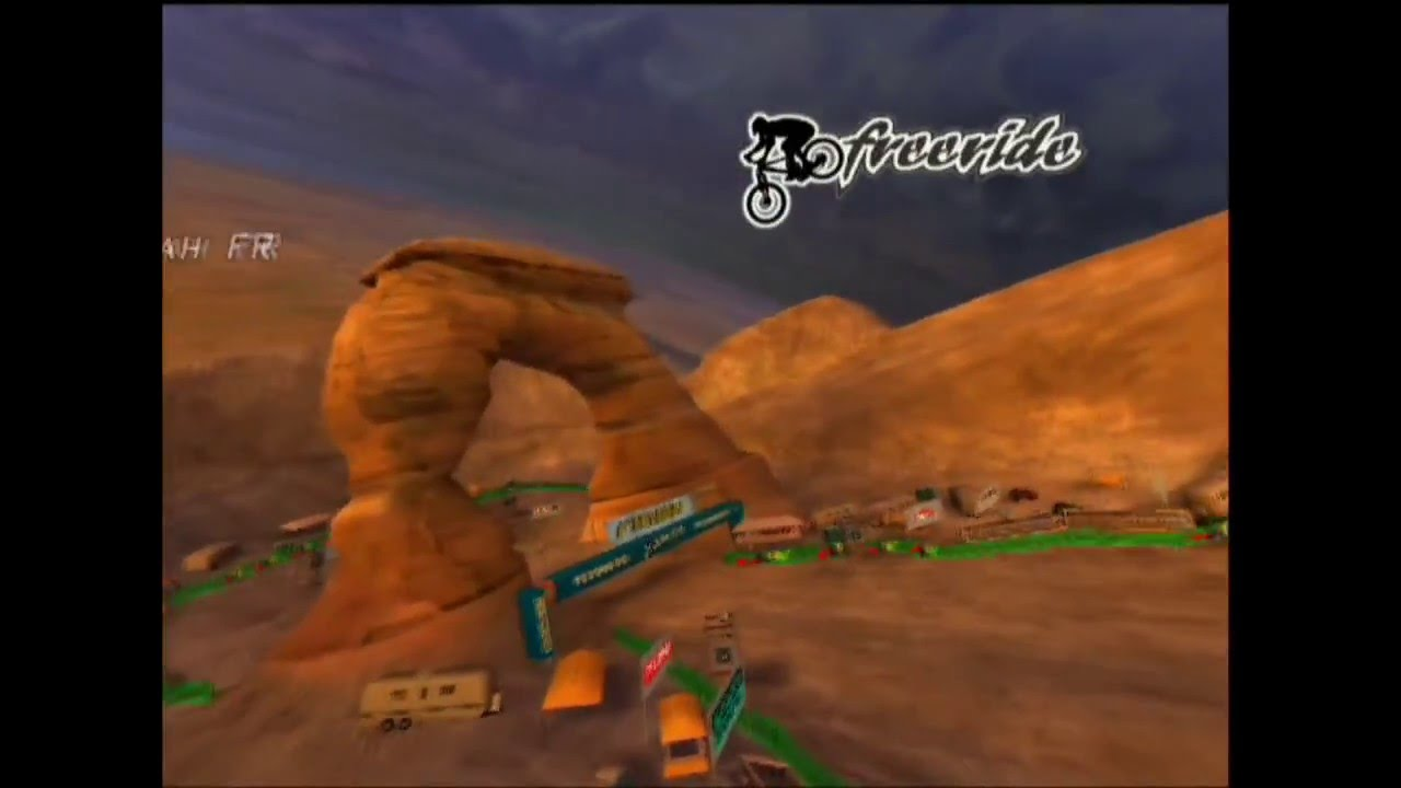 DOWNHILL DOMINATION PS2 - Red Pass Utah