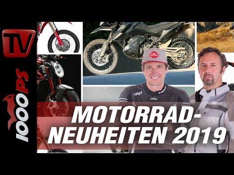 Motorrad Neuheiten 2019 - Alle Informationen zu aktuellen Motorradneuheiten News