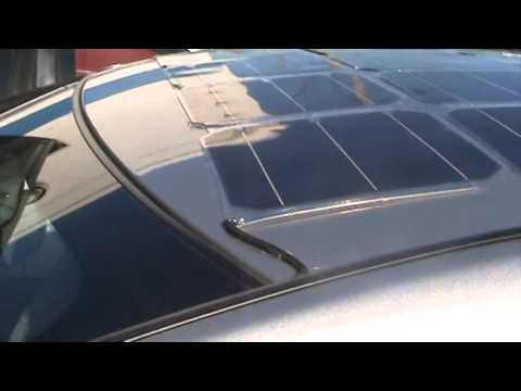 Nissan Leaf 120watt Solar Roof Youtube