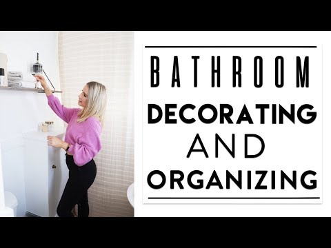 DECORATING + ORGANIZING The Bathroom   Quick Tips + Fav Products