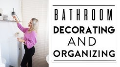 DECORATING + ORGANIZING The Bathroom | Quick Tips + Fav Products
