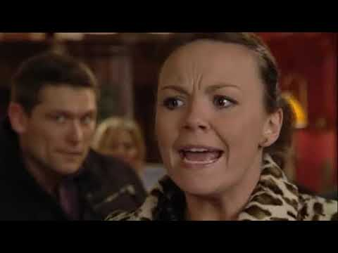 EastEnders - Archie Mitchell Attacks Janine Butcher (3rd March 2009)