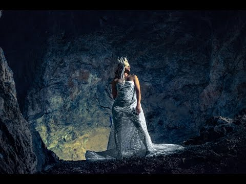 Fashion Wedding Shoot in Abandoned Mining Cave Interfit Off Camera Flash & Rotolight by Jason Lanier