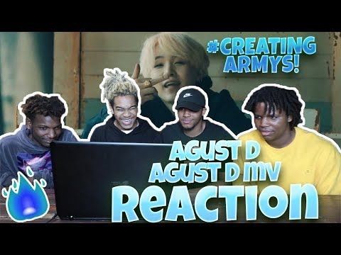Agust D 'Agust D' MV - REACTION | SUGA'S TONGUE TECHNOLOGY😳🤯