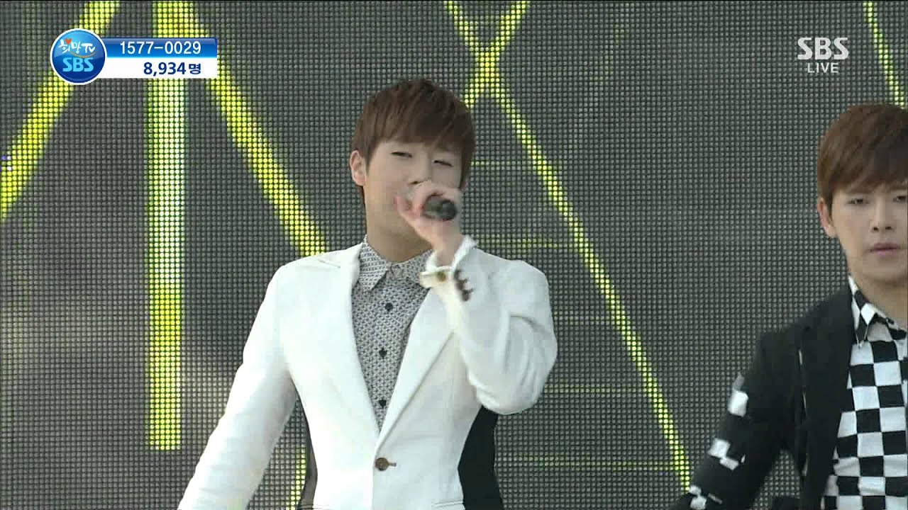 130511 INFINITE - Man In Love @ SBS HopeTV by플로라 - YouTube