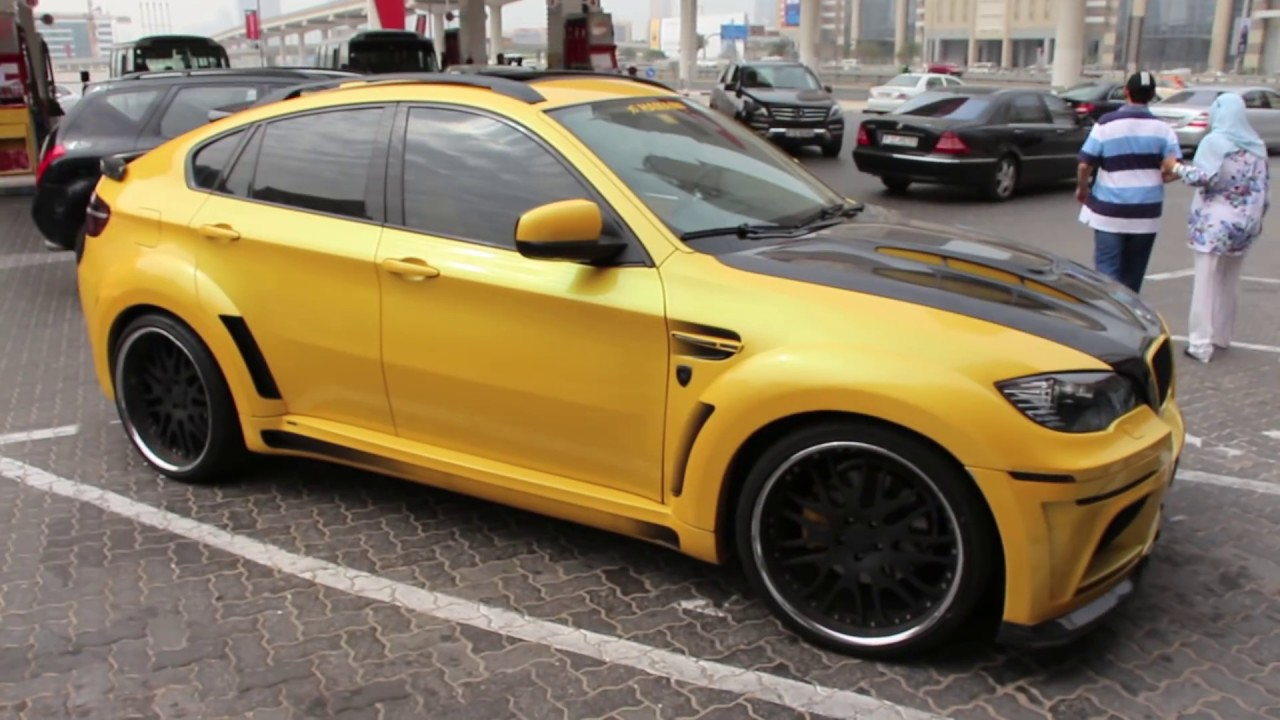 Hamann Bmw X6 M Yellow All The Way Exterior Amp Interior