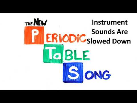 Karaoke The Periodic Table Song Youtube