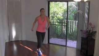 Dance Party (Zumba style)!! Full 30 Minute Fun Cardio Aerobics Fat Burning Workout