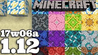 Minecraft 1.12 | 17w06a : Terakota Beton Wełna