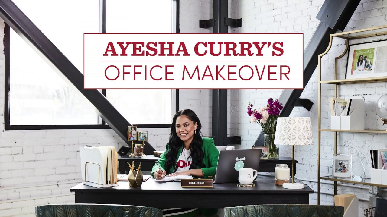 A Timelapse Workspace Makeover for Ayesha Curry – Cost Plus World ...