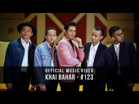 KHAI BAHAR - #123 (Official Music Video with lyric)