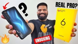 Realme 6 Pro Unboxing & First Look - Really A PRO Smartphone???🔥🔥🔥