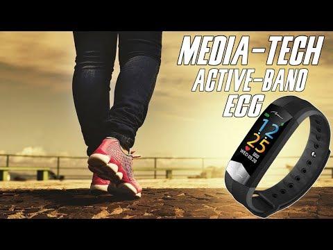 Media-Tech Active-Band ECG - opaska mierząca kroki, puls, ciśnienie i EKG / test, recenzja, review