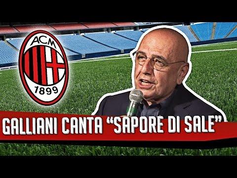 ADRIANO GALLIANI CANTA ''SAPORE DI SALE''