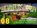 The Scenic Route Vol. 2 Modded Minecraft 1.11 Let's Play Botania Episode 08: Auto & Deadly Flowers!