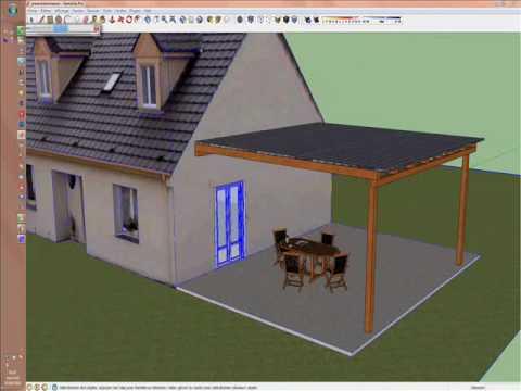 Sketchup pour les artisans du btp youtube for Simulation 3d maison