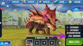 MONOSTEGOTOPS UNLOCKED New Superhybrid - Jurassic World Simulator Update v1.27.1 Android Gameplay