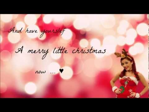 Ariana Grande  Have Yourself A Merry Little Christmas