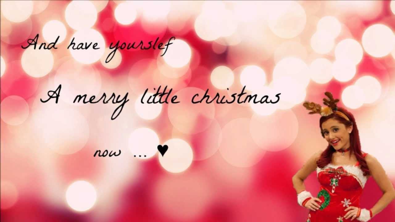 Ariana Grande - Have Yourself A Merry Little Christmas - YouTube
