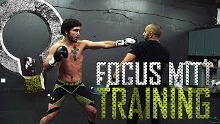 "MMA Training - Boxing Biomechanics with ""Machine Gun"" Matt Sayles"