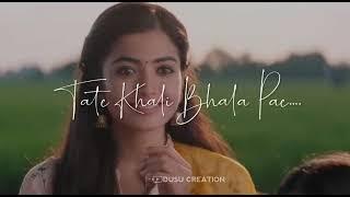 Mu tate khali chanhe....romantic odia song# Deeps special