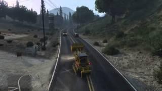 GTA5 : Road Cleaner
