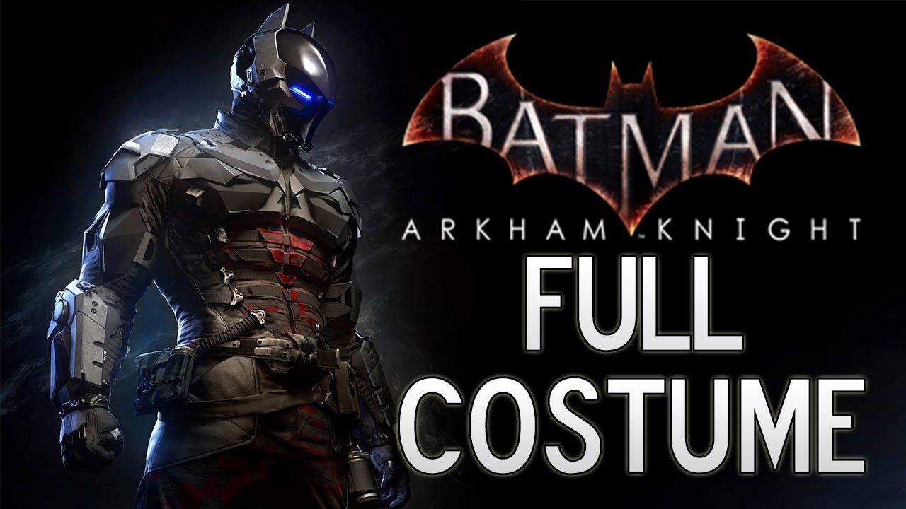 batman arkham knight arkham knights full costume