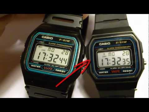 CASIO FALSIFICACION RELOJ DIGITAL